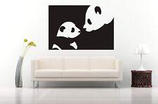 Wall Sticker Mural Decal Vinyl Decor Panda  Bear Family  Nature Animals