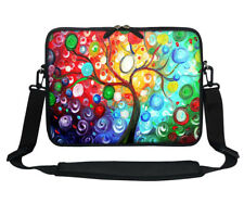 Soft Neoprene Laptop Bag Case with Shoulder Strap  to Fit  Chromebook 11.6""