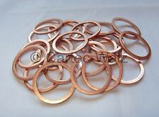 100 PIÈCES anneaux de cuivre bagues d'étanchéité Joints Cu 26x32x2,0 mm DIN 7603