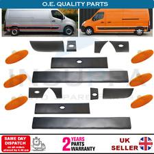 Vego intermitente intermitente lateral barra de protección para Opel Movano B renault Master