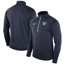 BYU Cougars Mens Nike Quarter-Zip Therma-Fit Sweatshirt - XXL & Large - NWT