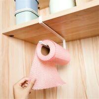 Kitchen Accessories Towel Holder Under Cabinet Tissue Hanger Paper Roll Rack