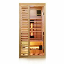 Infrarotkabine Infrarotsauna Wärmekabine Sauna Saunakabine 1 Person Vollspektrum