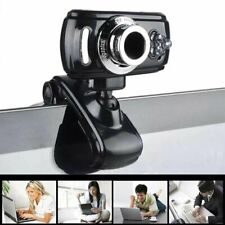 Full Hd Usb 50 Mp 3 Led Video Camera Webcam with Microphone for Pc Laptop Skype
