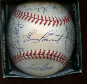 1997 Pittsburgh Pirates Team Signed ONL Coleman Baseball 30+ Signatures