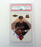 Troy Tulowitzki 2005 Justifiable Signed Autograph Rookie Card RC PSA/DNA COA