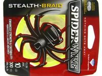 Spiderwire Yellow Stealth Braid Superline 10 Lb 300 Yds Braided Fishing Line