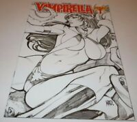 Vampirella #1 Comic Dynamite VARIANT Black White Wrap Joe Maduriera Retailer