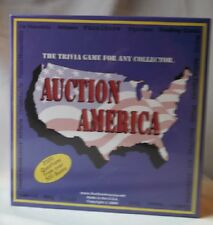 Auction America Trivia Game Collectors Memorabilia Trivia Game Nib 2000