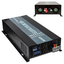 Pure Sine Wave Inverter 4000W Power Inverter 24V to 120V for Solar Home system
