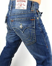 True Religion $199 Men's Hand Picked Relaxed Straight Jeans - 101700