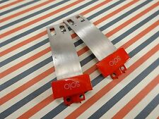 2 GENUINE Beats Solo 2 2.0 Solo2 Extensions Replacement Extension Hinge Part RED