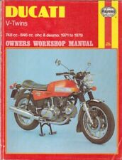 DUCATI 750 V-TWIN 750 GT SPORT SS 860 GT GTS 900 SS GTS 1969-1979 REPAIR MANUAL