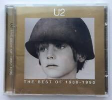 U2 The Best of 1980-1990 CD disc 1998 Greatest hits 80's classics Island Canada