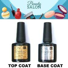 CND Shellac UV gel Nail Polish TOP COAT or BASE COAT