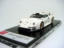 1/43 Make Up Company EM328C Porsche 911 GT1 1996 White  Miniwerks