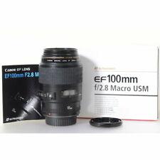 Canon EF 100mm F2.8 Macro USM Objektiv - Makroobjektiv - EF 2,8/100 USM