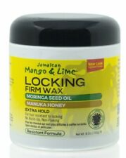 Jamaican Mango & Lime Locking Firm Wax - Extra Hold - Non Flaking - No Build Up