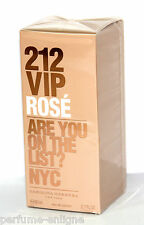 212 Vip Rose by Carolina Herrera EDP 2.7 oz 80 ml Spray NIB 100% Original Sealed