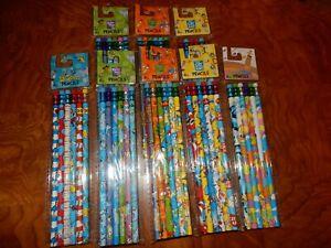 8 packs NEW Dr. Suess Book Character Pencils School supplies Set