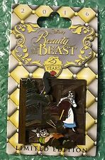 Disney Dlr - Beauty & The Beast 25 Enchanted Years Belle/Maurice Le Pin Moc
