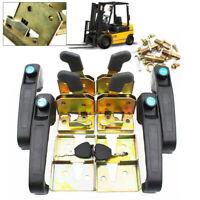 4 Door Lock Locking Door Handle set f/ electric tricycle,Forklift Tractor,loader