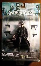 "1999 Warner Brothers WB DSK The Matrix ""The Film"" NEO Figure MOC"