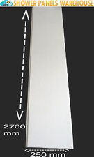 4 white gloss 5mm hard Pvc Cladding  Decorative Wall Panels Bathroom Cladding