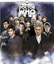 Doctor Who TV Series Special Edition 12 Month 2018 Wall Calendar NEW SEALED