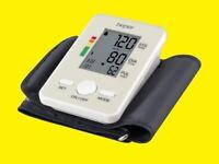 Automatisches Oberarm-Blutdruckmessgerät / LCD-Display