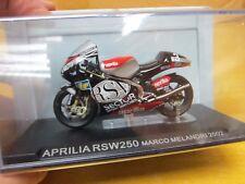IXO - Motorcycle - Scale 1/24 - APRILIA RSW250 MARCO MELANDRI 2002 - Mini Bike