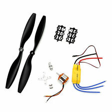 A2212 1000KV Brushless Motor w/30A ESC + Pair 1045 Propeller For DJI X6S0