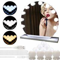 Lampe LED pour Miroir Kit de Lumières Maquillage 10 Ampoules Réglables