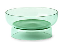 BNIB NORMANN COPENHAGEN Tivoli Pond Bowl Jade Green Glass Small 17cm Diameter