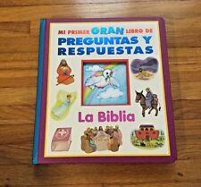 NEW - Mi Primer Gran Libro de Preguntas y Respuestas: La Biblia