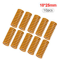 3D Printer Auto Levelling Springs for Creality CR-10/Anet A8 10pack Yellow U9H9