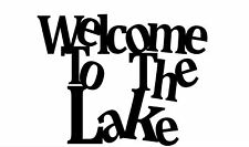 """House Plaque, Metal Sign, Condo, Cabin, Lake #1 FREE SHIPPING 16"""" WIDE X 12""""TALL"""