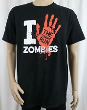 I Hand Zombies The Zombie Run Black T-Shirt