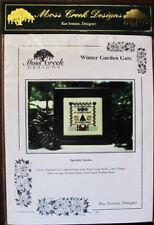 Moss Creek Designs Winter Garden Gate Counted Thread Chart/Pattern/Kit