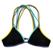 Victoria's Secret Swim Bikini Top Strappy Crossback Triangle Wireless Xs S M New