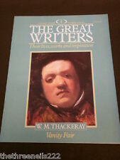 THE GREAT WRITERS #8 W.M. THACKERAY