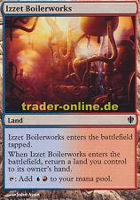 2x izzet boilerworks (izzet-fábrica de vapor) comandante 2013 Magic