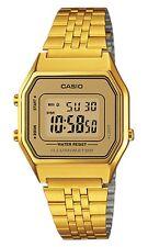 Casio LA-680WGA-9E Orologio Donna polso Vintage Nuovo Sveglia Luce Batt. 5 anni