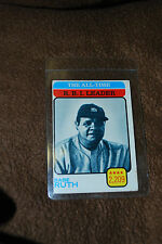 1973 #474 All Time R.B.I. Leader Babe Ruth