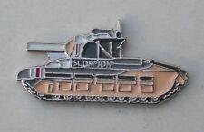 Scorpion Tank Quality Enamel Pin Badge