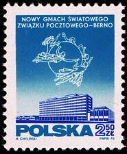 Polska Poland 1970 Fi 1860 Mi 2007 MNH Oddanie do użytku nowego gmachu UPU Berno