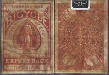 CARTE DA GIOCO BICYCLE DISTRESSED EXPERT BACK,poker size,1° VERSIONE