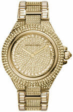 Michael Kors MK5720 Women's Camille Gold-tone Pave Glitz Watch