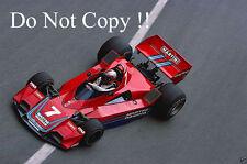 John Watson Martini Brabham BT45 Monaco Grand Prix 1977 Photograph 1