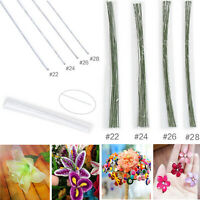 50pcs Florist Stub Wire Choice of Gauge & 35cm Length Floristry Wires -2 Colors